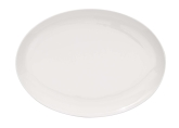 "Tria, Oval Coupe Plate, 10 1/4"", Simple Plus"