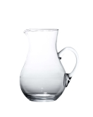 "Arcata, Round Pitcher, 2 liter, 9""H, Glass"