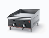 "Vollrath Cayenne Heavy Duty Flat Top Gas Griddle, 36"", Thermostatic Control, S/S, 3 Burners"