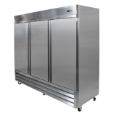 Kintera, Reach-In Upright Freezer, Three-Section, 72 cu ft