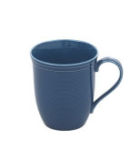 Tria, Mug, 9.50 oz, Navy, Rhythm Gem