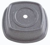 "Cambro Versa Camcover Plate Cover, 9"", Granite Gray"
