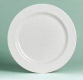 "Steelite International Plate, 9"", Rimmed, Rolled Edge, Anfora, American Basics"