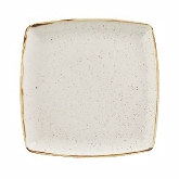 Churchill China, Deep Square Plate, Stonecast, Barley White, 10 1/2""
