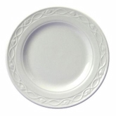 Churchill China, Plate, Chateau, Super Vit, White, 9""