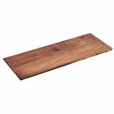 "CAL-MIL, Display Tray / Riser, 12"" x 48"" x 1/2"", Mid-Century, Walnut"