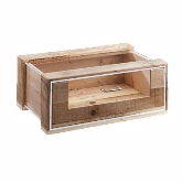 "CAL-MIL, Vintage Baked Goods Drawer, 22"" x 14 1/2"" x 9 1/4"", Reclaimed Wood"
