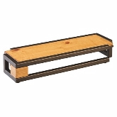 "CAL-MIL, Sierra Rectangular Display Riser, 20 1/2""W x 7""D x 3 1/4""H"
