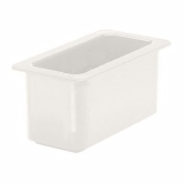 "Cambro, Coldfest Food Pan, 1/3 Size, 6"" Deep, White"