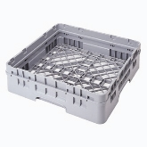 "Cambro, Camrack Base Rack, w/Extender, Soft Gray, 1-Compartment, 19 3/4"" x 19 3/4"", 4 1/4"" H Inside Stack"