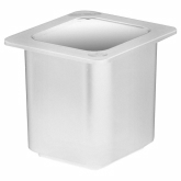 "Cambro, Coldfest Food Pan, 1/6 Size, 6"" Deep, White"