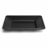 "Delfin, Rectangular Tray, Downtown, Black Matte, 12"" x 10"" x 1 1/2"""
