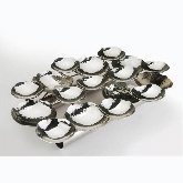Eastern Tabletop, Multi Hors D'Oeuvres Holder, Hammered, S/S