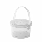 G.E.T., Soup Container, Eco-Takeouts, Clear, w/Lid & Handle, 12 oz