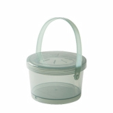 G.E.T., Soup Container, Eco-Takeouts, Jade, w/Lid & Handle, 12 oz