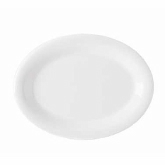 "G.E.T. Enterprises Diamond White Platter, 13 1/2"" x 10 1/4"", Melamine"