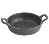 Professional Bakeware by TableCraft, Cast Iron Mini Server, 8 oz