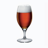 Steelite, Beer Glass, Fiore, Bormioli Rocco, Pulled Stem, 12 1/2 oz