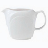Steelite International, Jug/Creamer, 10 oz, Handled, Distinction, Bianco, Bianco White