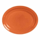 "Syracuse China Platter, 9 5/8"", Cantina, Flint Body, Cayenne"