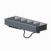 Vollrath 5 Well Hot Modular Drop-In w/Infinite Control, Auto-Fill and Manifold Drains, AMPS 15.0