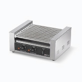 Vollrath Hot Dog Grill, Roller-Type, (9) Rollers, (24) Hot Dog Capacity, Variable Temperature Control