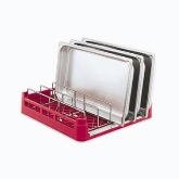 "Vollrath Signature Open End Rack w/Insert - Full Size, 19 3/4"" Sq."