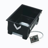 "Vollrath Cayenne Model 3002 Drop-In Warmer w/Remote Mount Control w/Drain, 12"" x 20"" Opening"