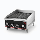 "Vollrath Cayenne Heavy Duty Charbroiler, Radiant and Lava 48"", Manual Control, 8 Burners"
