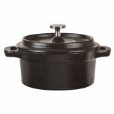 World Tableware, Round Mini Dutch Oven, 9 oz, Cast Iron
